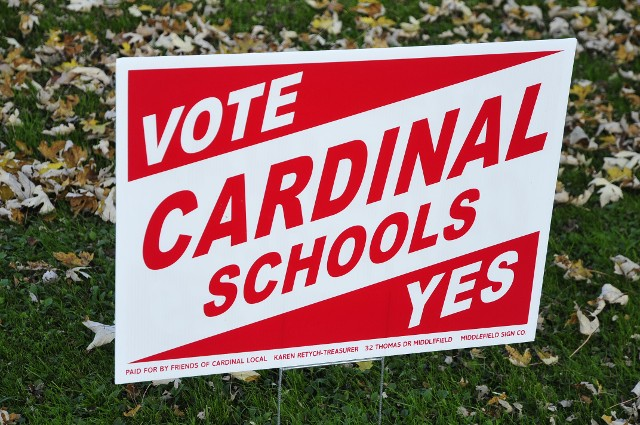 Voting Yard Sign