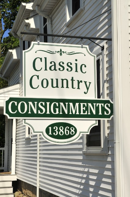 Consignments Signage